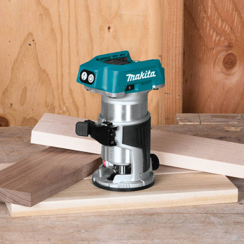 Makita XTR01Z 18V LXT Cordless Lithium-Ion Brushless Compact Router (Tool Only) image number 2