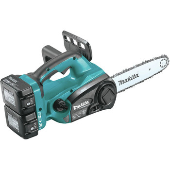Makita XCU02PT1 18V X2 (36V) LXT Lithium-Ion Cordless 12 in. Chain Saw Kit with 4 Batteries (5.0Ah) image number 1