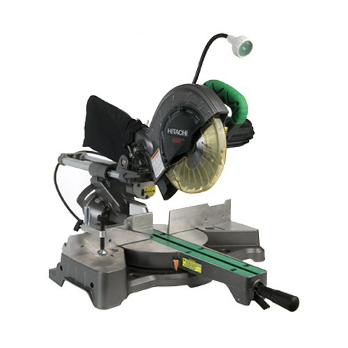 Hitachi C8FSHE 8-1/2 in. Sliding Compound Miter Saw with Laser and Light (Open Box)