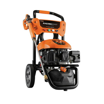 Generac 7132 3100 PSI/2.5 GPM Gas Pressure Washer Li-Ion Electric Start with PowerDial Spray Gun, 25 ft. Hose and 4 Nozzles
