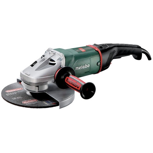 Metabo W24-230 15.0 Amp 6,600 RPM 9 in. Angle Grinder
