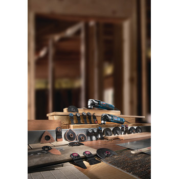 Bosch GOP55-36C1 5.5 Amp StarlockMax Oscillating Multi-Tool Kit with 8-Piece Accessory Kit image number 9