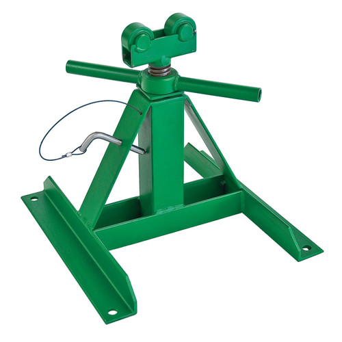 Greenlee 50170767 13 in. to 28 in. 2,500 lb. Capacity Telescoping Reel Stand image number 0