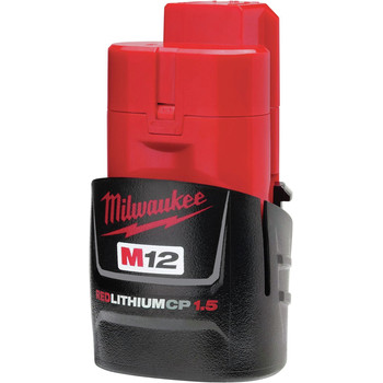 Milwaukee 2447-21 M12 3/8 in. Crown Stapler Kit image number 3