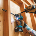Makita XT288T 18V LXT Brushless Lithium-Ion 1/2 in. Cordless Hammer Drill Driver/ 4-Speed Impact Driver Combo Kit (5 Ah) image number 10