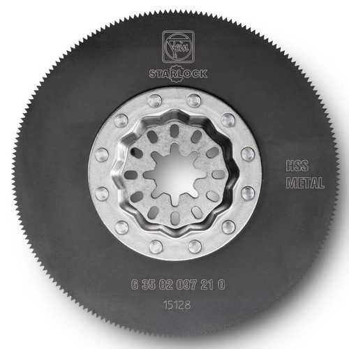 Fein 63502097230 3-3/8 in. Round High-Speed Steel Circular Oscillating Saw Blade (5-Pack)