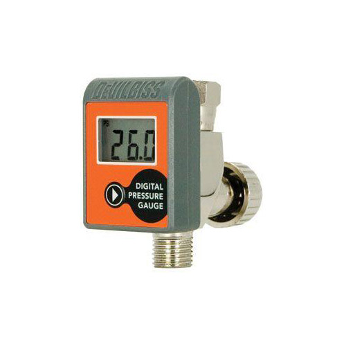 DeVilbiss 803291 Air Adjusting Valve with Digital Gauge image number 0