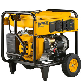 Factory Reconditioned Dewalt PM0167000.01R 420cc 7,000 Watt Gas Powered Commercial Generator image number 0