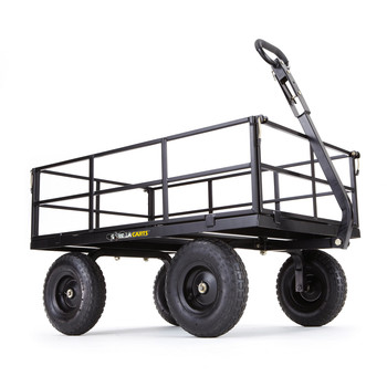 Gorilla Carts GOR1200-COM 1,200 lb. Capacity Heavy-Duty Steel Utility Cart image number 0