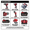 Milwaukee 2696-25 M18 Lithium-Ion Cordless 5-Tool Combo Kit image number 1