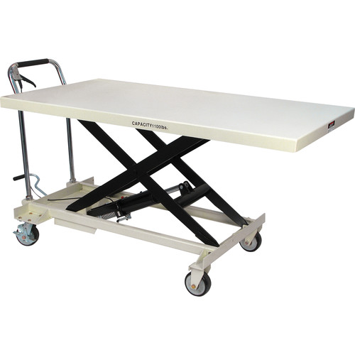 JET SLT-1100 1,100 lbs. SLT Series Jumbo Scissor Lift Table