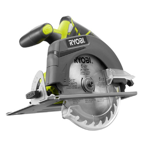Factory Reconditioned Ryobi ZRP507 ONE Plus 18V Cordless Circular Saw (Bare Tool)