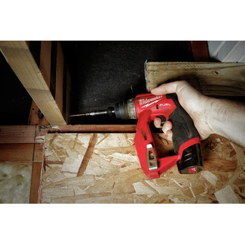 Milwaukee 2505-22 M12 FUEL Lithium-Ion 3/8 in. Cordless Installation Drill Driver Kit (2 Ah) image number 23