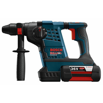 Factory Reconditioned Bosch RH328VC-36K-RT 36V Cordless Lithium-Ion 1-1/8 in. SDS-Plus Rotary Hammer Kit image number 1