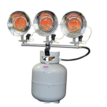 Mr. Heater F242915 10,000 - 45,000 BTU Triple Tank Top Propane Heater image number 0