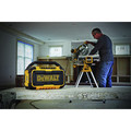 Factory Reconditioned Dewalt DCR010R 12V/20V MAX Lithium-Ion Jobsite Corded/Cordless Bluetooth Speaker (Tool Only) image number 10