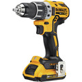 Dewalt DCK283D2 20V MAX XR Compact Brushless Lithium-Ion Cordless Drill/Driver and Impact Driver Combo Kit (2 Ah) image number 2
