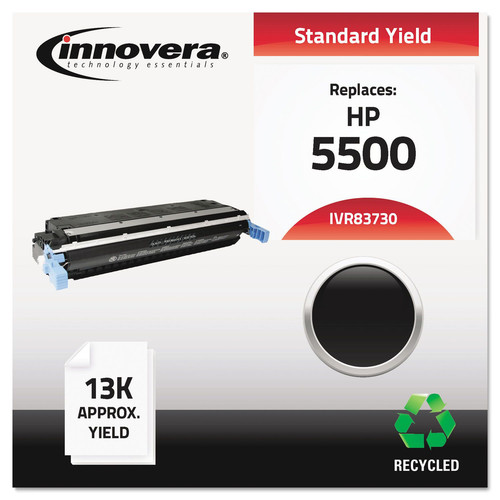 Innovera IVR83730 Remanufactured C9730a (645a) Toner, Black