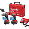 Milwaukee 2796-22 M18 FUEL 18V Cordless Lithium-Ion 2-Tool Combo Kit with ONE-KEY Connectivity