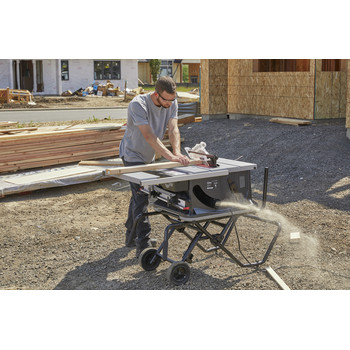 SawStop JSS-120A60 15 Amp 60Hz Jobsite Saw PRO with Mobile Cart Assembly image number 20