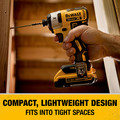 Dewalt DCK283D2 20V MAX XR Compact Brushless Lithium-Ion Cordless Drill/Driver and Impact Driver Combo Kit (2 Ah) image number 10
