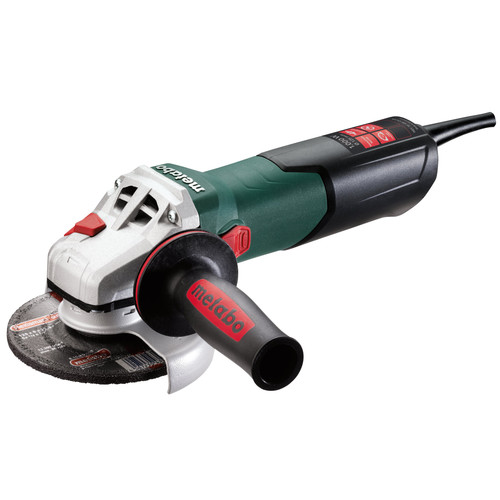 Metabo WEV10-125 9.5 Amp 5 in. Angle Grinder with VC Electronics and Lock-On Slide Switch