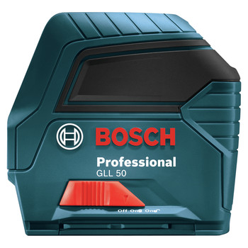 Factory Reconditioned Bosch GLL50-RT Self-Leveling Cross-Line Laser image number 1