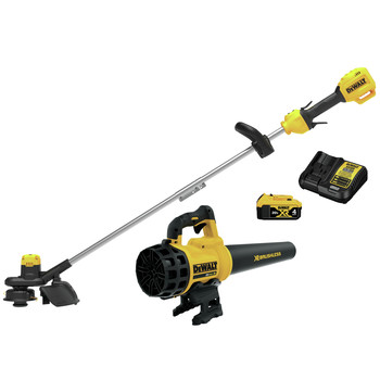 Dewalt DCKO975M1 20V MAX Cordless Lithium-Ion 4 Ah 13 ft. String Trimmer / 20V MAX XR Brushless Handheld Blower Kit
