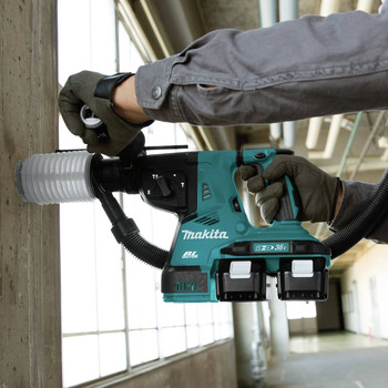 Makita XRH08PT 18V X2 LXT Lithium-Ion (36V) 5.0 Ah Brushless 1-1/8 in. AVT Rotary Hammer Kit image number 9