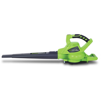 Greenworks 24312 40V G-MAX Lithium-Ion DigiPro Brushless Variable-Speed Handheld Blower Vac (Tool Only) image number 0