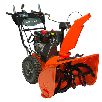 Ariens 921045 Deluxe 24 254CC 2-Stage Electric Start Gas Snow Blower with Headlight image number 0
