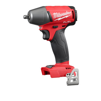 Milwaukee 2754-20 M18 FUEL Cordless Lithium-Ion 3/8 in. Compact Impact Wrench with Friction Ring (Tool Only)