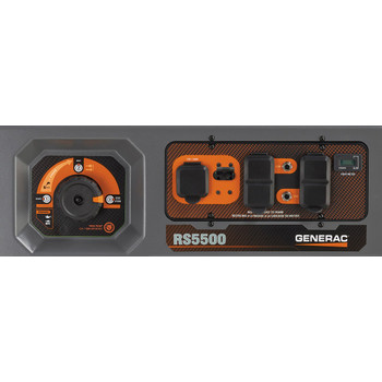 Factory Reconditioned Generac 6672R 5,500 Watt Portable Generator with Cord image number 4
