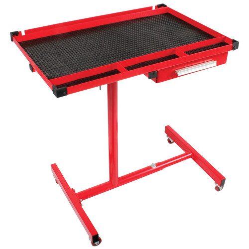 Sunex 8019 Heavy-Duty Adjustable Work Table with Drawer image number 0