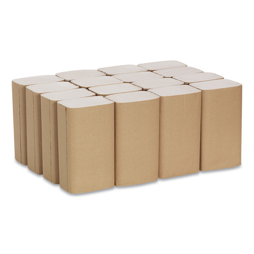 Georgia Pacific Professional 23504 1 Fold Paper Towel, 10 1/4 X 9 1/4, Brown, 250/pack, 16 Packs/carton image number 0