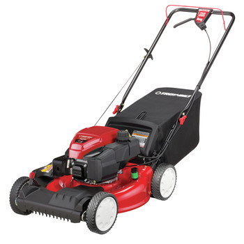 Troy-Bilt 12AVA2MR766 21 in. Self-Propelled 3-in-1 Front Wheel Drive Mower with 159cc OHV Troy-Bilt Engine