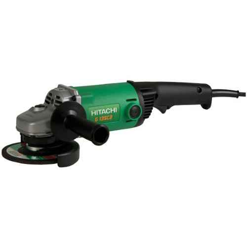 Hitachi G13SC2P9 11.0 Amp 5 in. Angle Grinder with No-Lock Off Switch
