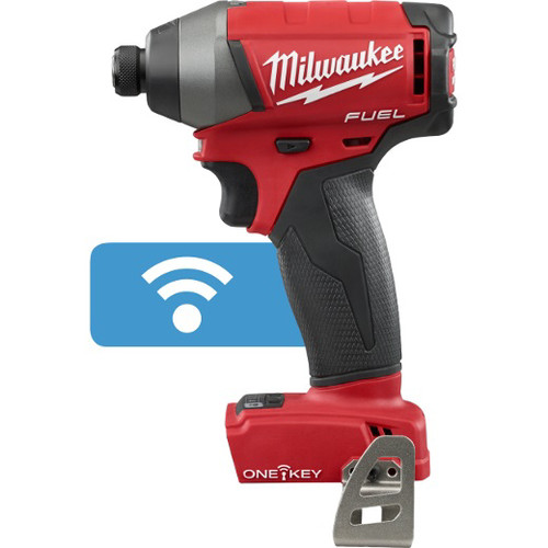 Factory Reconditioned Milwaukee 2757-80 M18 FUEL Cordless Lithium-Ion 1/4 in. Hex Impact Driver with ONE-KEY Connectivity (Tool Only) image number 0