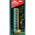 Makita B-34833 9-Piece Impact Gold 3/8 in. Drive Socket Set with 15 Tilt Socket Adapter