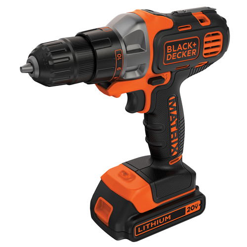 Black & Decker BDCDMT120C 20V MAX Cordless Lithium-Ion Matrix Drill Driver Kit