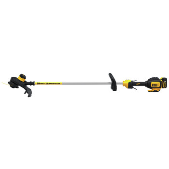 Factory Reconditioned Dewalt DCST920P1R 20V MAX 5.0 Ah Cordless Lithium-Ion Brushless String Trimmer image number 1