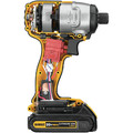 Factory Reconditioned Dewalt DCF885C2R 20V MAX Lithium-Ion 1/4 in. Cordless Impact Driver Kit (1.5 Ah) image number 3