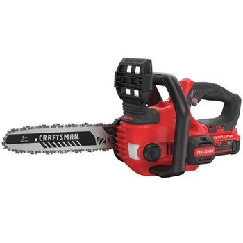 Factory Reconditioned Craftsman CMCCS620M1R 20V Compact Lithium-Ion 12 in. Cordless Chainsaw Kit (4 Ah)