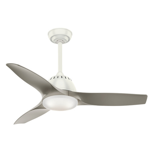 Fresh White Indoor Ceiling Fan With Light And Remote