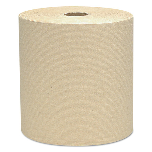 Scott 4142 Hard Roll Towels, 1.5-in Core, 8 X 800ft, Natural, 12 Rolls/carton image number 0