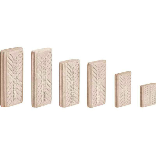 Festool 494940 8mm x 22mm x 40mm Domino Beech Tenons (130-Pack)