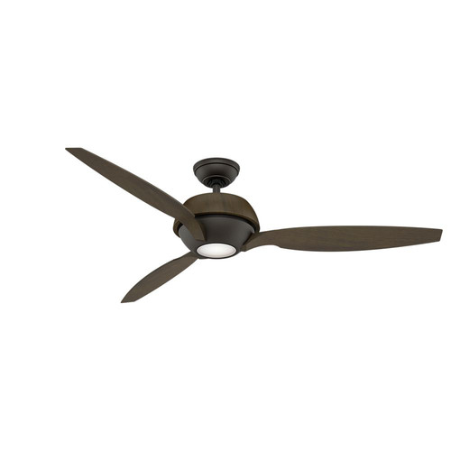 Casablanca 59119 60 in. Contemporary Riello Maiden Bronze Walnut Indoor Ceiling Fan
