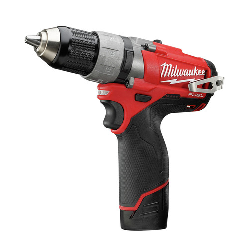 Factory Reconditioned Milwaukee 2403-82 M12 FUEL 12V Cordless Lithium-Ion 1/2 in. Drill Driver