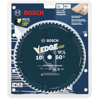 Bosch DCB1060 Daredevil 10 in. 60 Tooth Fine Finish Circular Saw Blade image number 1