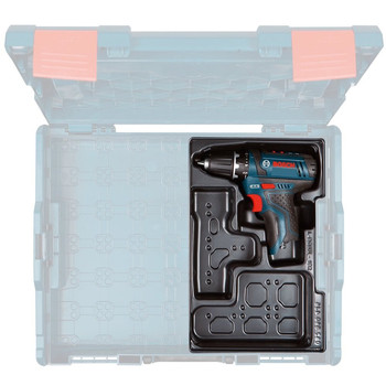 Bosch PS31BN 12V Max Lithium-Ion 3/8 in. Cordless Drill Driver with Exact-Fit Tool Insert Tray (Tool Only) image number 2
